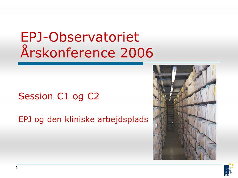 EPJ-Observatoriet Årskonference 2006
