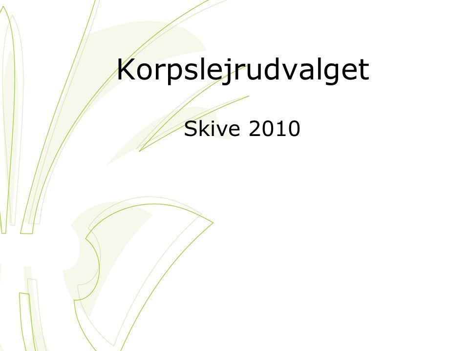 Korpslejrudvalget Skive 2010