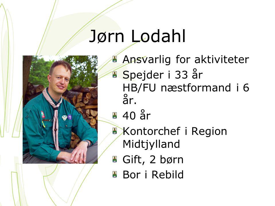 Jørn Lodahl Ansvarlig for aktiviteter