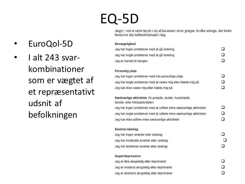 EQ-5D EuroQol-5D.