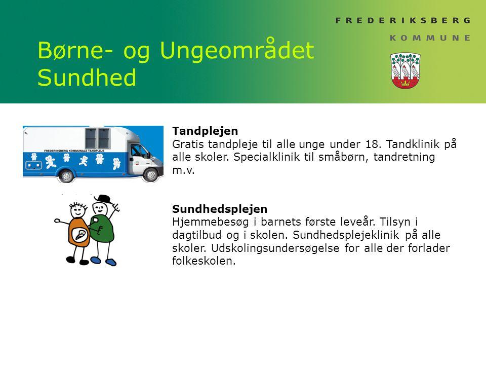 Børne- og Ungeområdet Sundhed