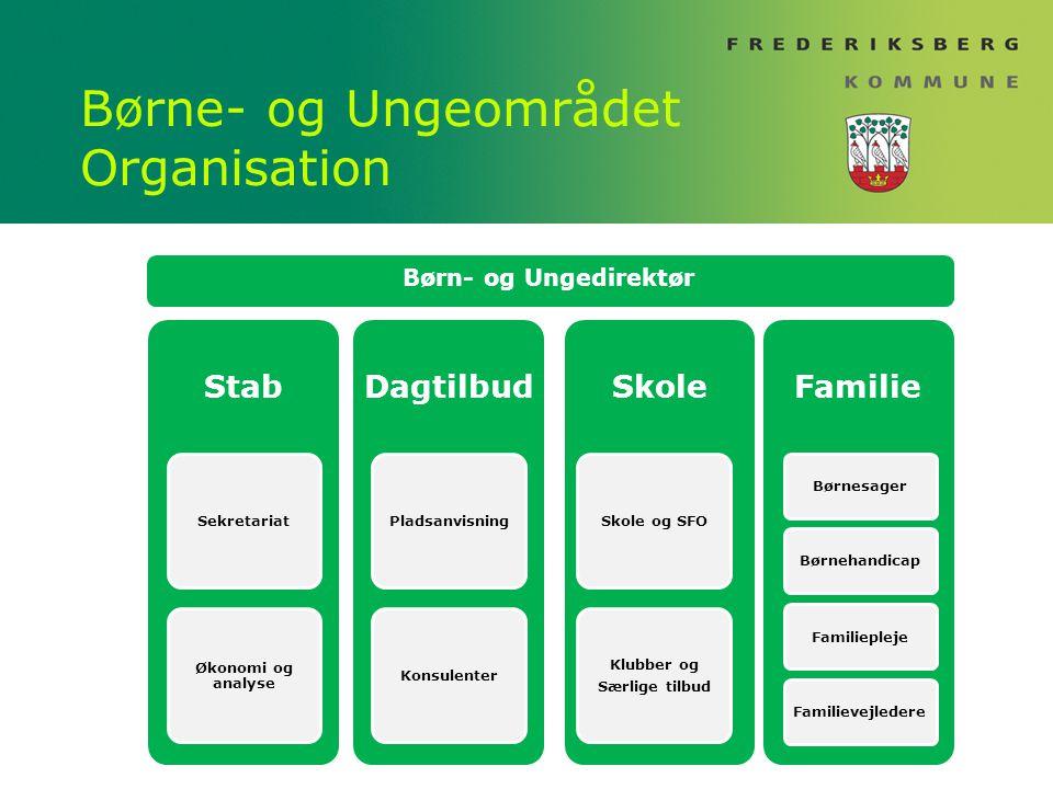 Børne- og Ungeområdet Organisation