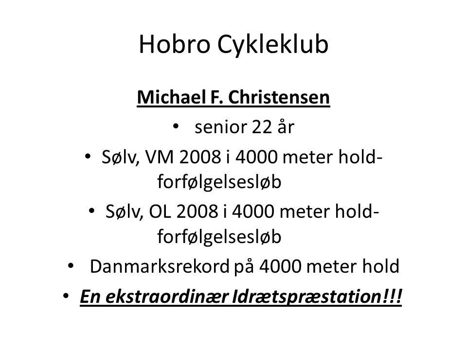 Hobro Cykleklub Michael F. Christensen senior 22 år