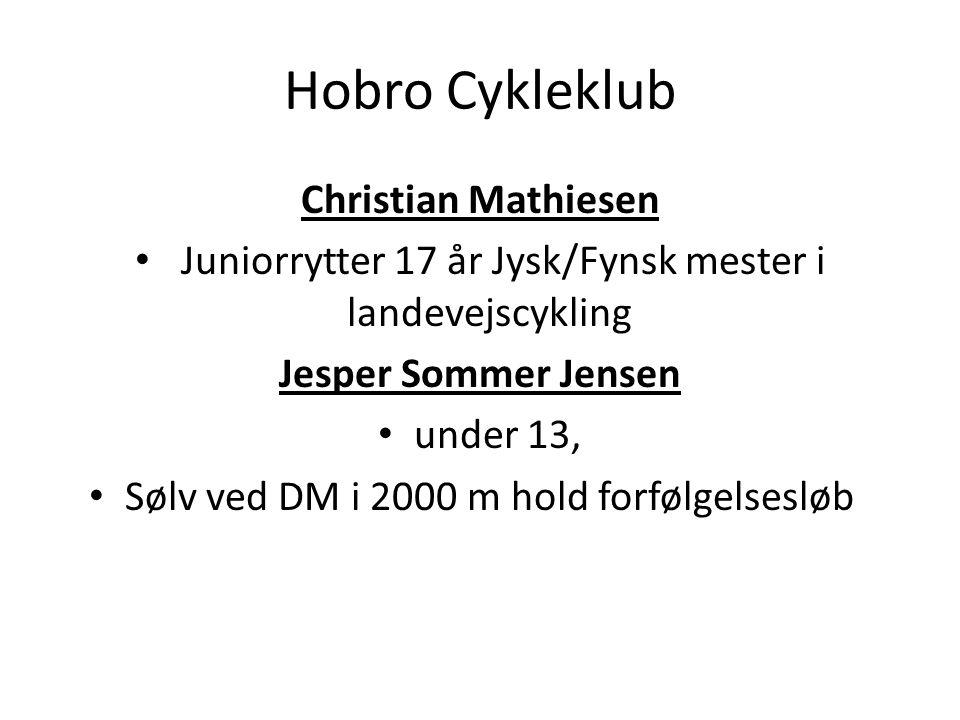 Hobro Cykleklub Christian Mathiesen