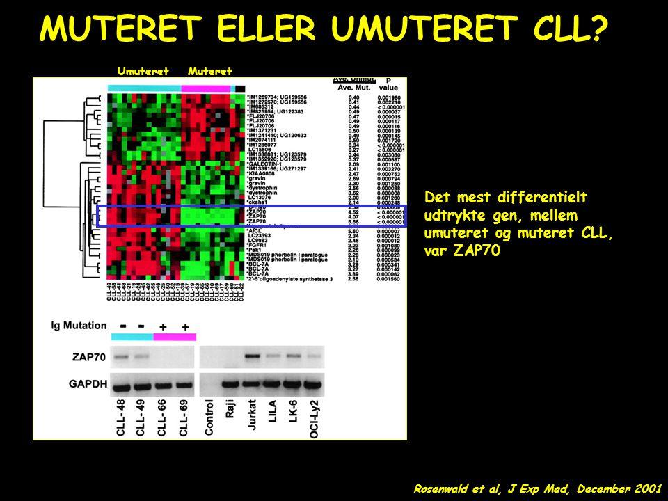 MUTERET ELLER UMUTERET CLL