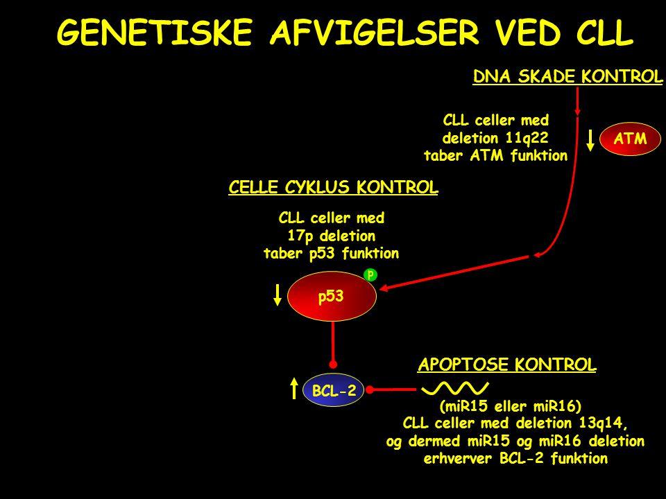 GENETISKE AFVIGELSER VED CLL