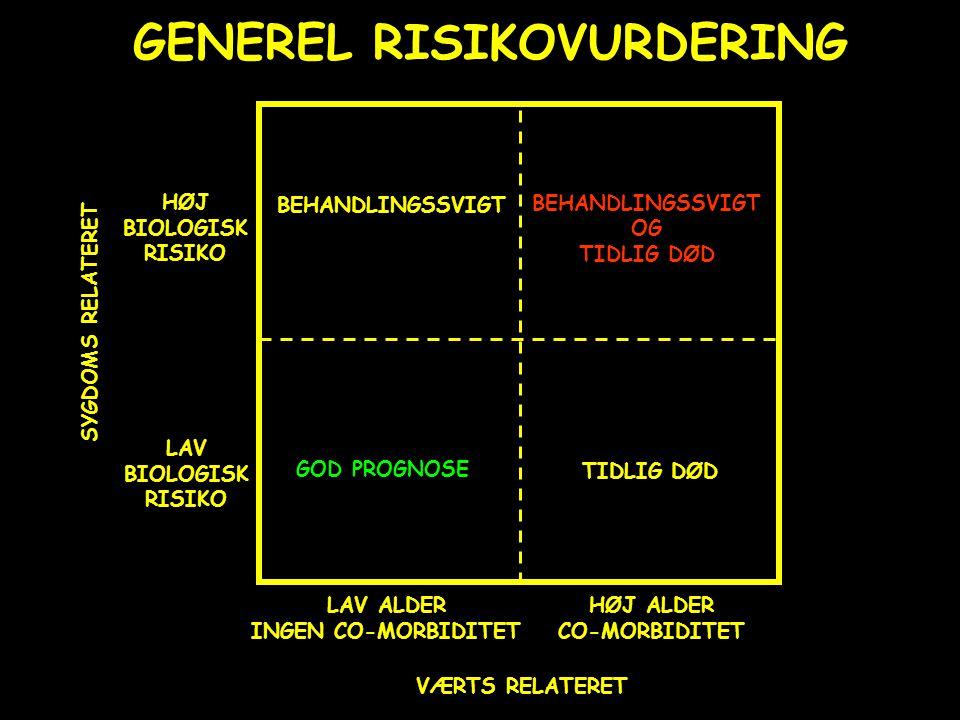 GENEREL RISIKOVURDERING