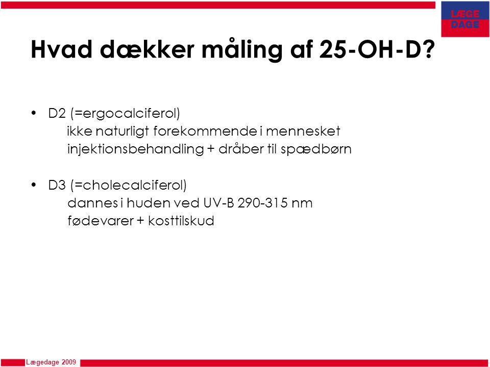 Hvad dækker måling af 25-OH-D
