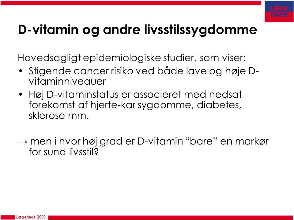 D-vitamin og andre livsstilssygdomme