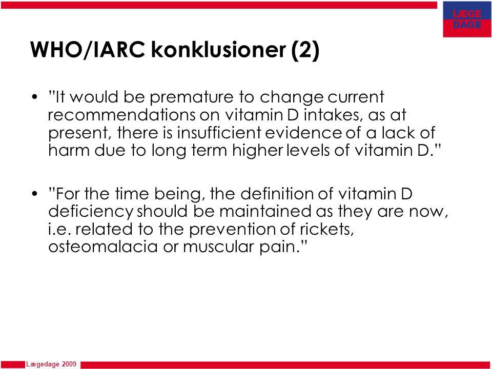 WHO/IARC konklusioner (2)