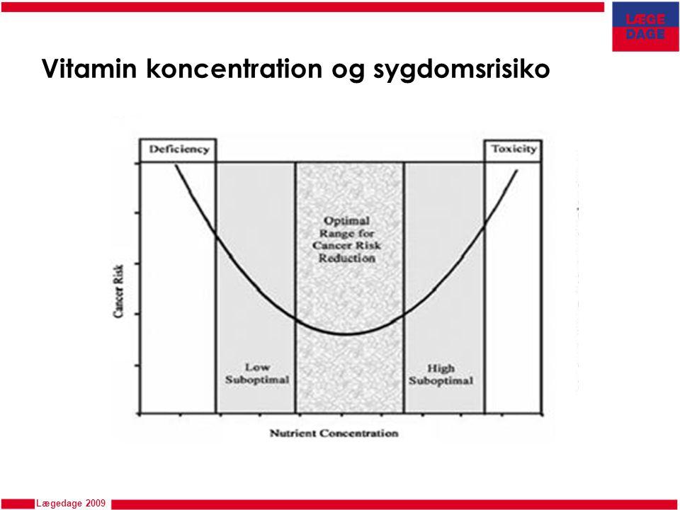 Vitamin koncentration og sygdomsrisiko