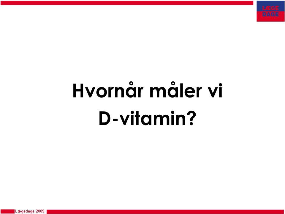 Hvornår måler vi D-vitamin
