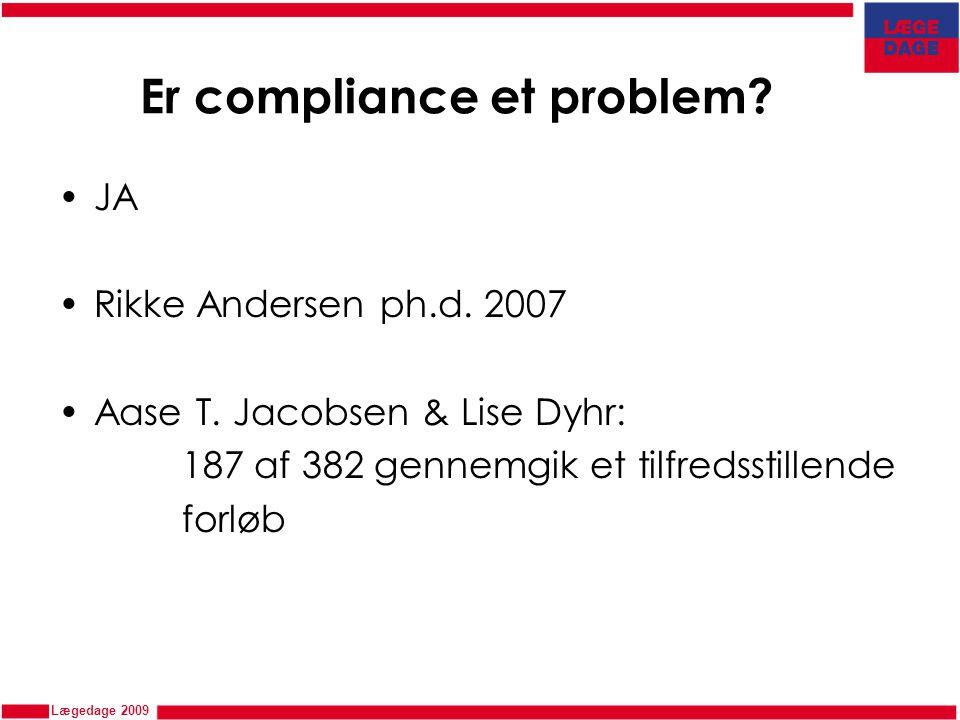 Er compliance et problem