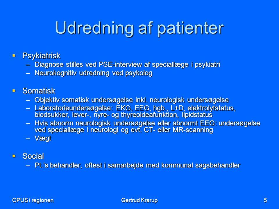 Udredning af patienter