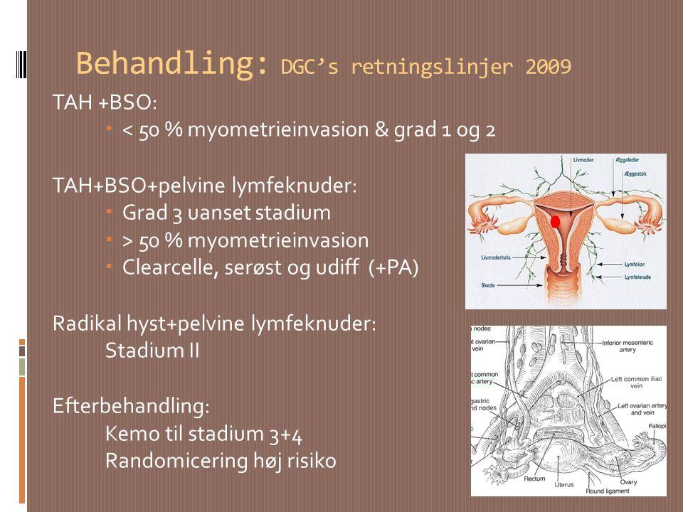 Behandling: DGC's retningslinjer 2009