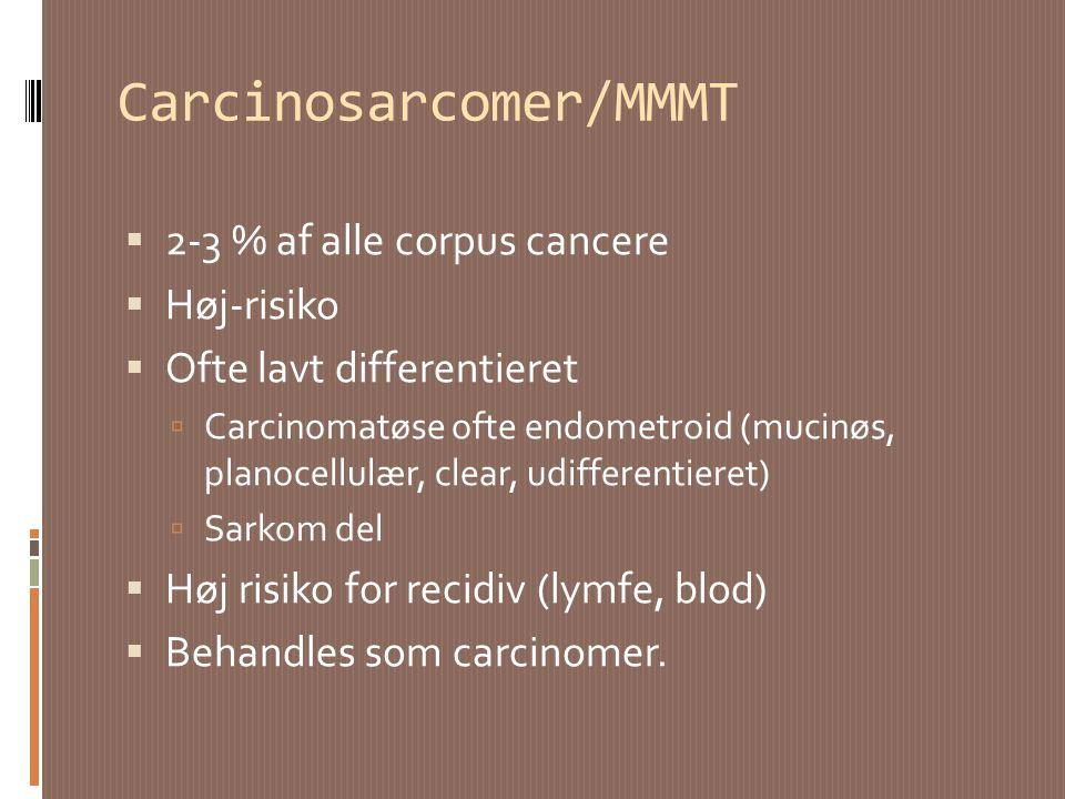 Carcinosarcomer/MMMT