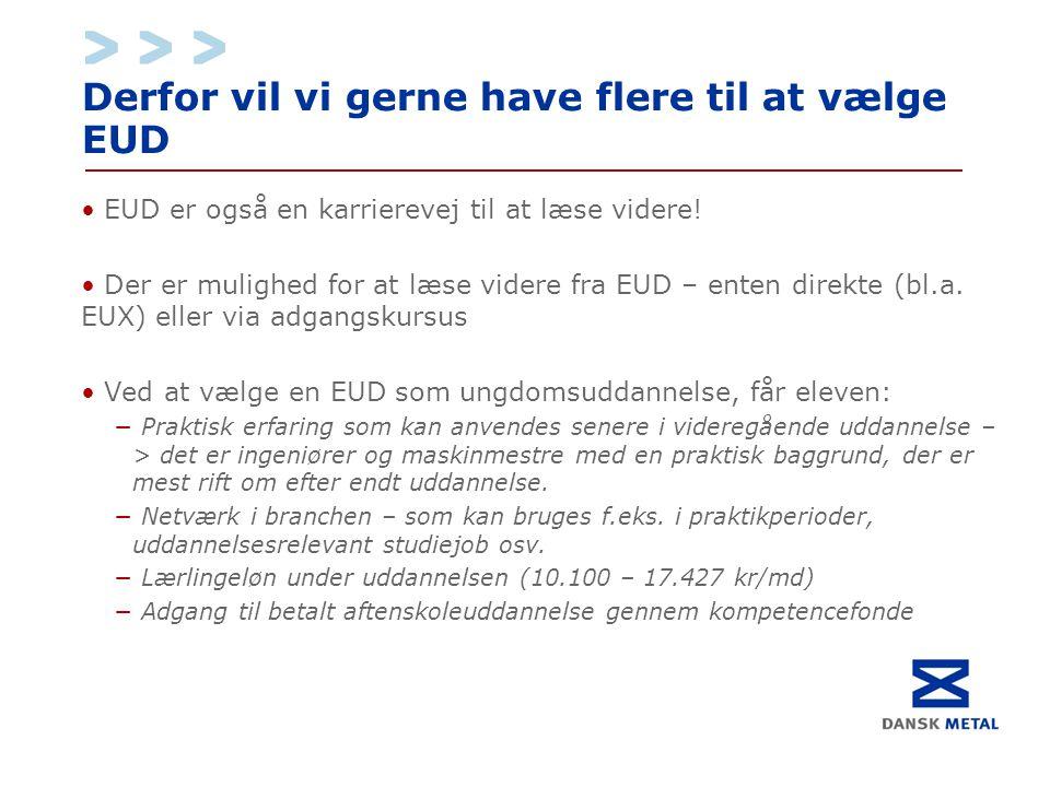 Derfor vil vi gerne have flere til at vælge EUD