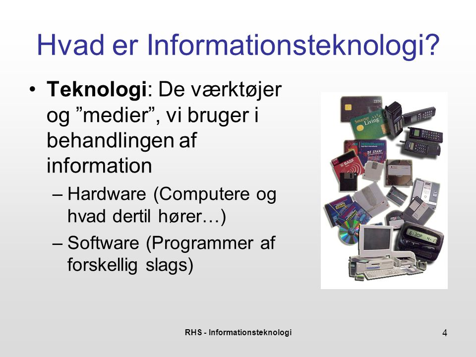 Hvad er Informationsteknologi