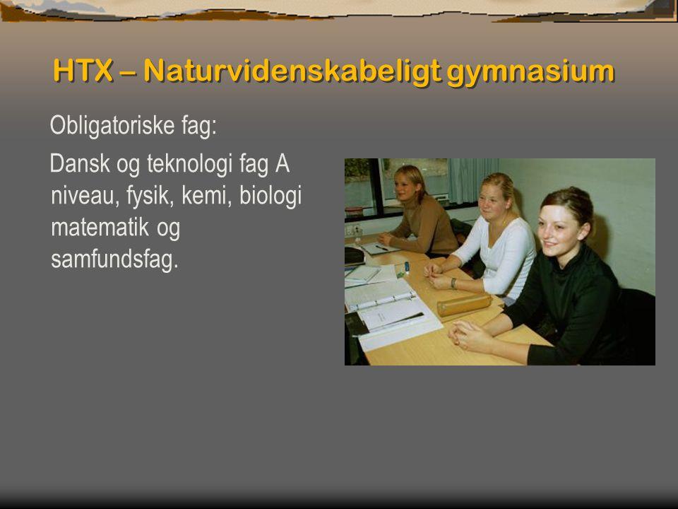 HTX – Naturvidenskabeligt gymnasium