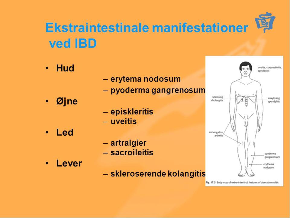 Ekstraintestinale manifestationer ved IBD