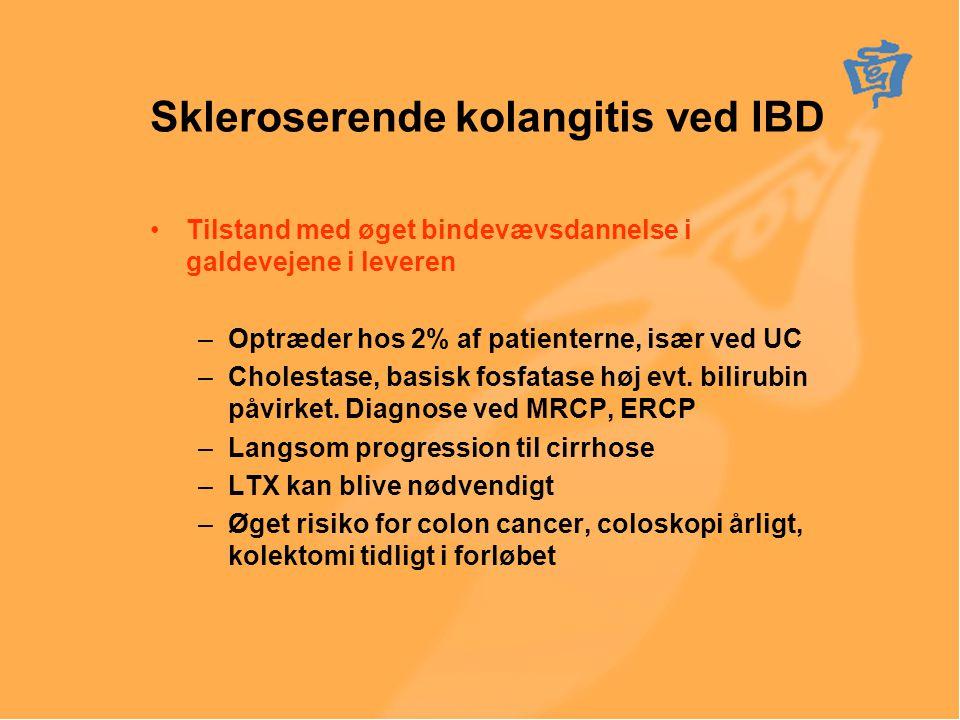 Skleroserende kolangitis ved IBD