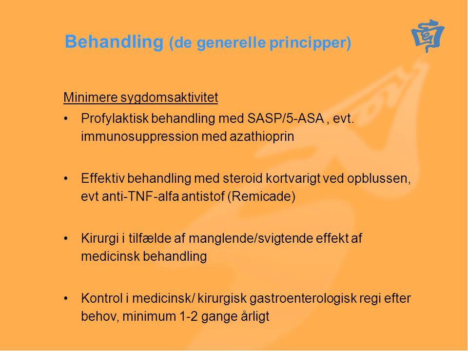 Behandling (de generelle principper)