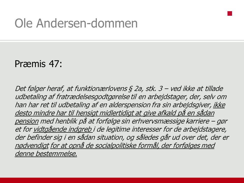 Ole Andersen-dommen Præmis 47: