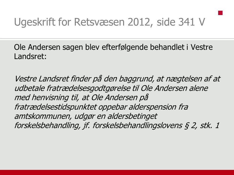 Ugeskrift for Retsvæsen 2012, side 341 V