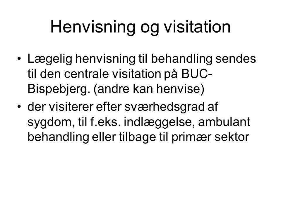 Henvisning og visitation