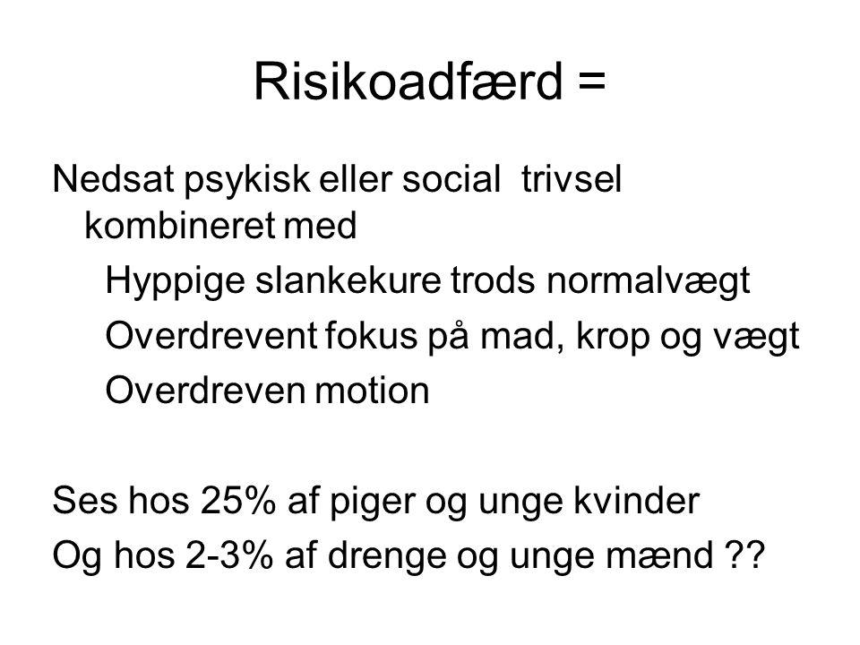 Risikoadfærd =