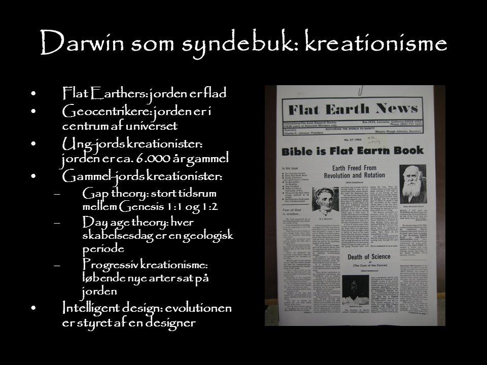 Darwin som syndebuk: kreationisme