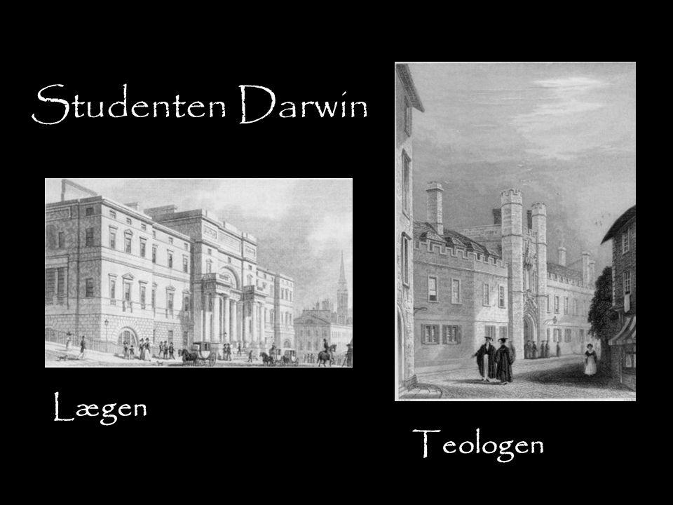 Studenten Darwin Lægen Teologen