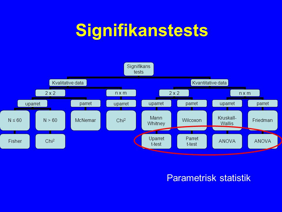 Parametrisk statistik