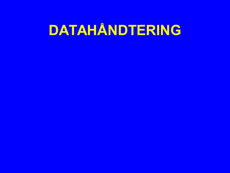 DATAHÅNDTERING