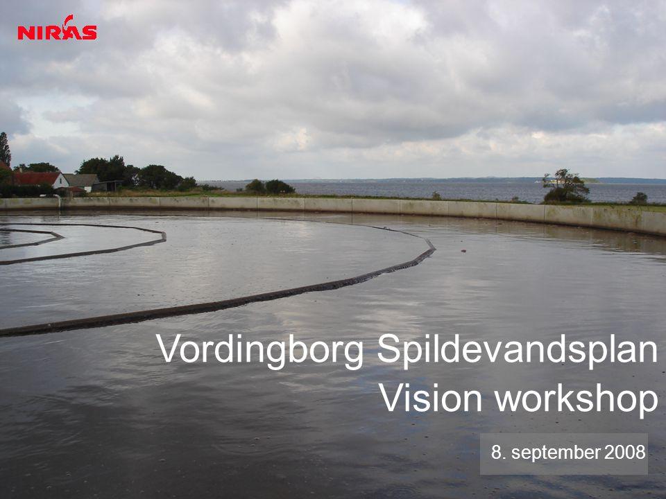Vordingborg Spildevandsplan Vision workshop