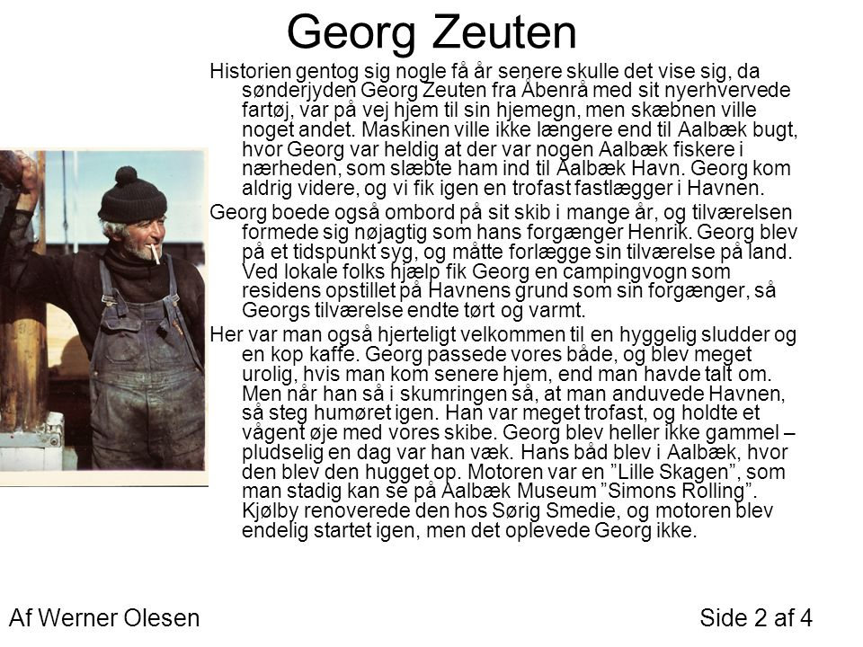 Georg Zeuten Af Werner Olesen Side 2 af 4