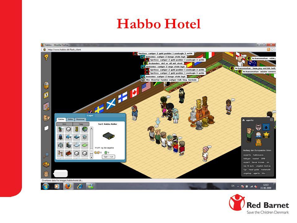 Habbo Hotel 12-16 år