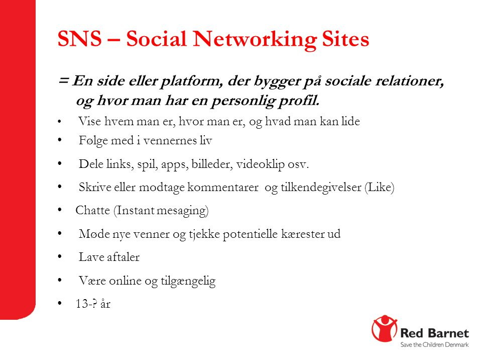 SNS – Social Networking Sites