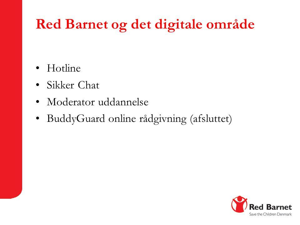 Red Barnet og det digitale område