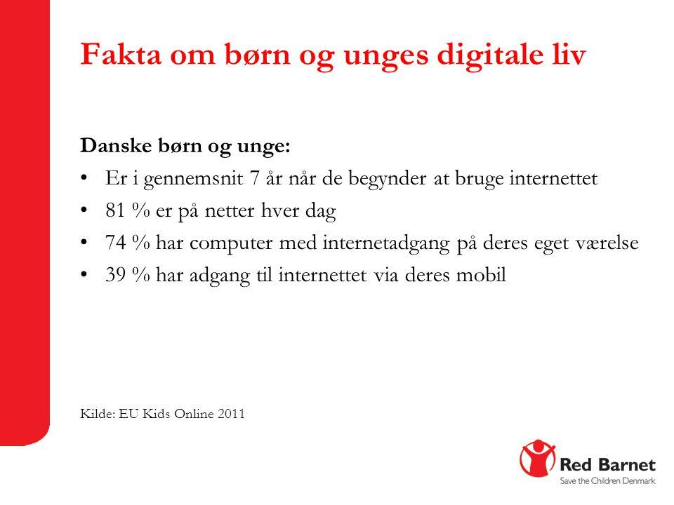 Fakta om børn og unges digitale liv