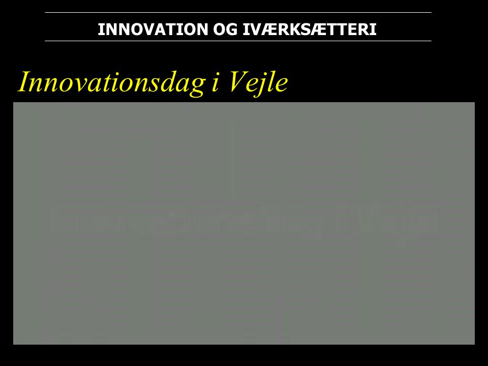 Innovationsdag i Vejle