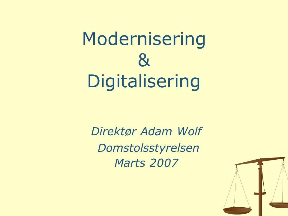 Modernisering & Digitalisering
