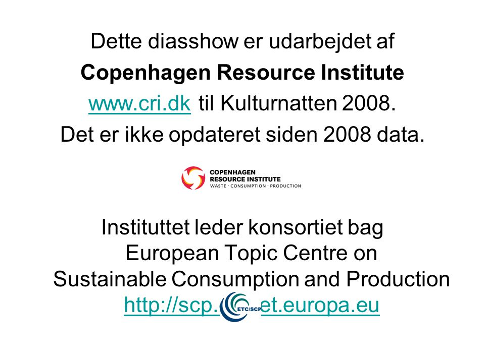 Copenhagen Resource Institute