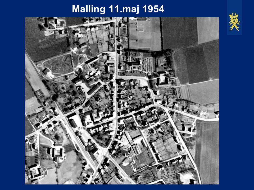 Malling 11.maj 1954 Opløsningen er virkelig god.