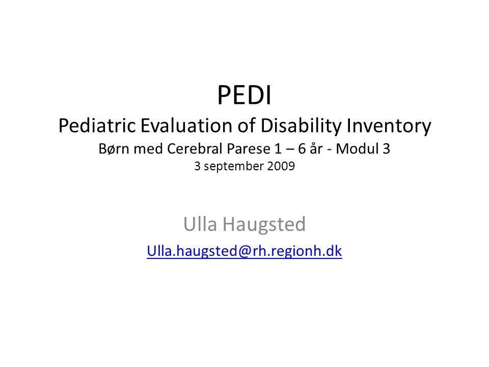 Ulla Haugsted Ulla.haugsted@rh.regionh.dk