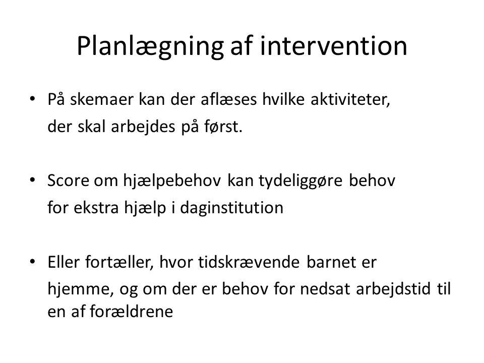 Planlægning af intervention