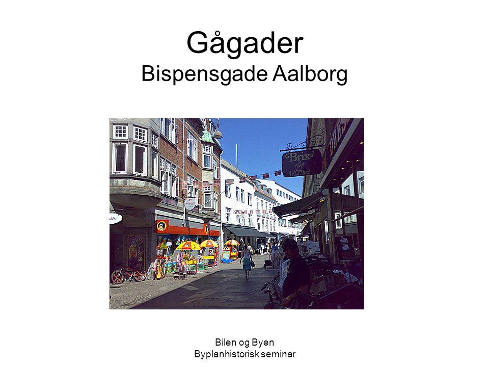 Gågader Bispensgade Aalborg