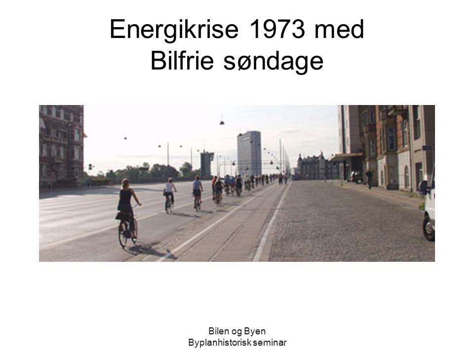 Energikrise 1973 med Bilfrie søndage