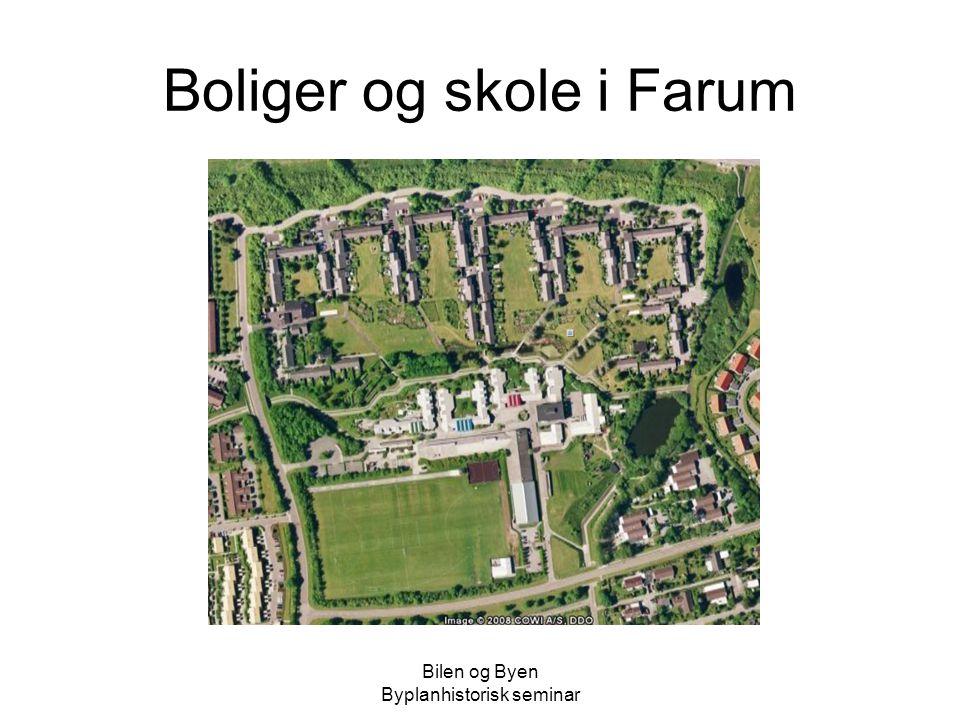 Boliger og skole i Farum