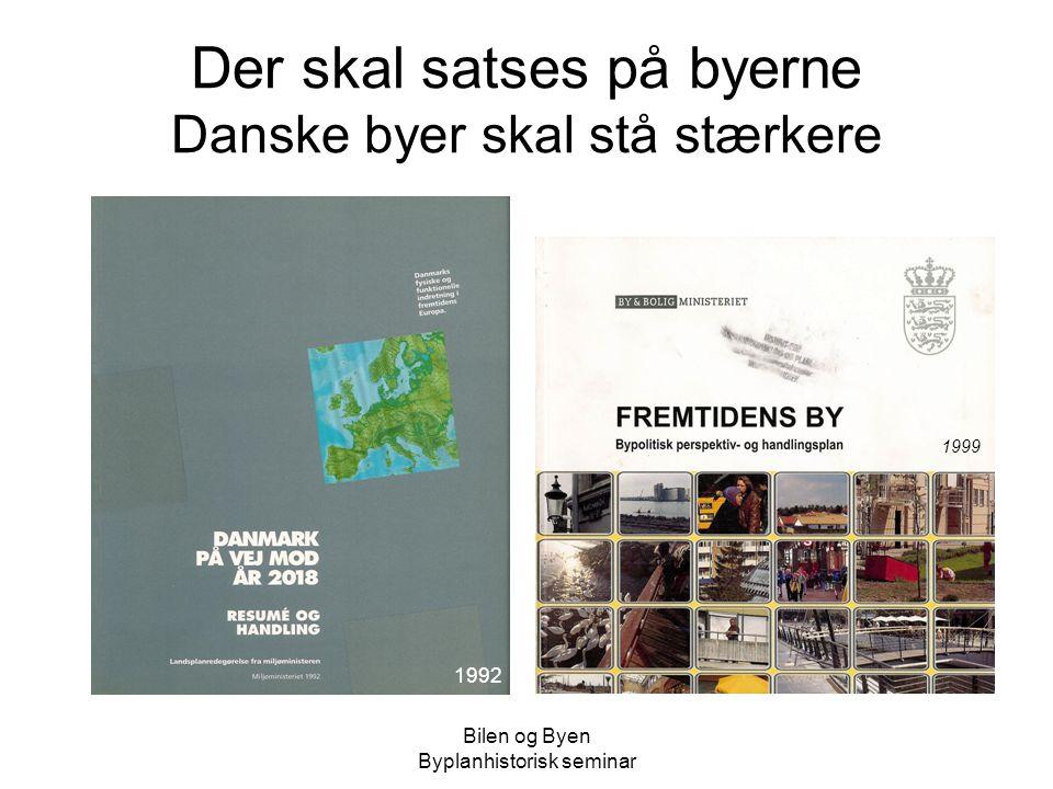 Der skal satses på byerne Danske byer skal stå stærkere